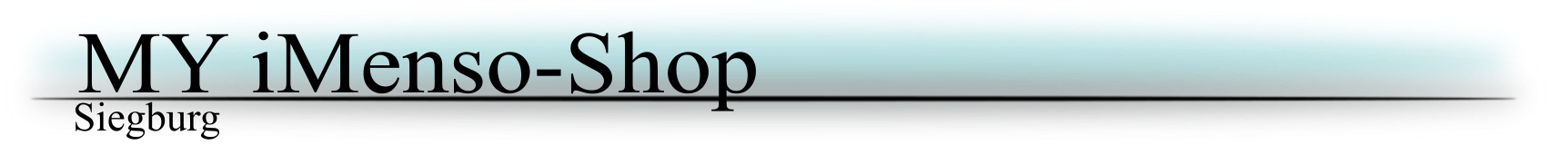 My iMenso Shop-Logo