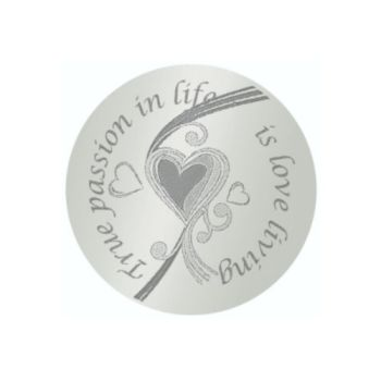 MY iMenso Engraving Insignia True Passion in life Silber 24-0297