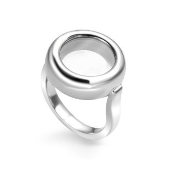 MY iMenso Ring Silber für Insignia Rings 28-021