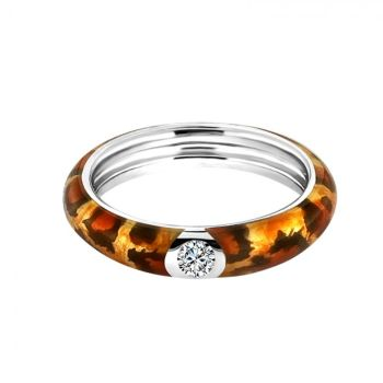 MY iMenso Enamel Ring tiger print 28-092