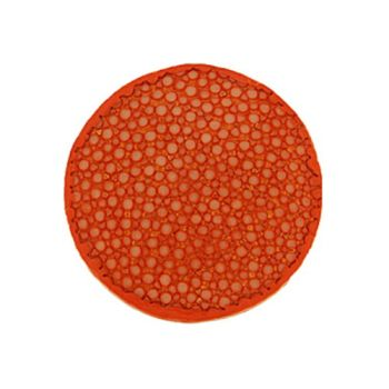 MY iMenso Leder Insignia orange gewölbt 33-0982