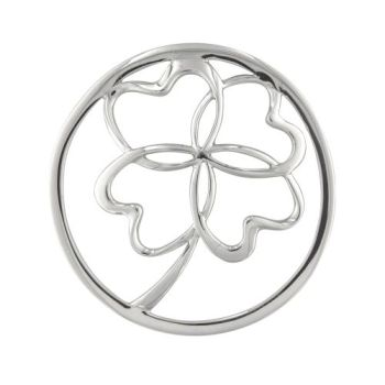MY iMenso Cover Insignia clover Silber gewölbt 33-1386