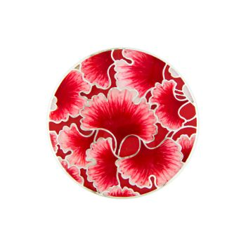 MY iMenso Enamel Insignia red sea flower 33-1454