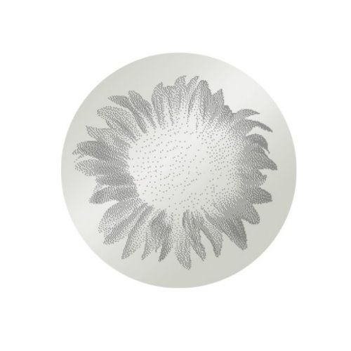 MY iMenso Engraving Insignia Sonnenblume Silber 24-0292