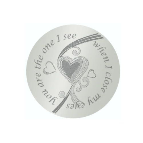 MY iMenso Engraving Insignia You are the one Silber 24-0298