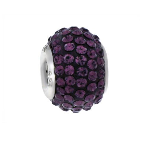 MY iMenso Glamour Beads Sterlingssilber brombeer 26-105