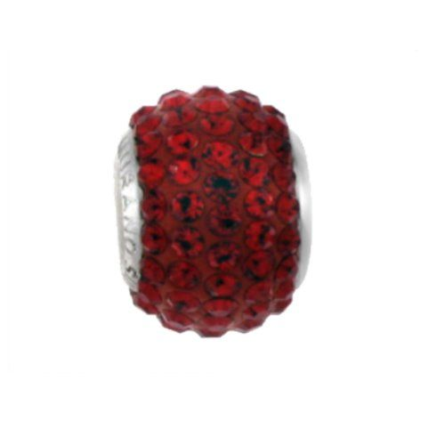MY iMenso Glamour Beads Sterlingssilber rot 26-106