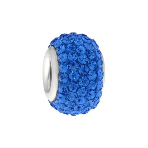 MY iMenso Glamour Beads Sterlingssilber blau 26-187