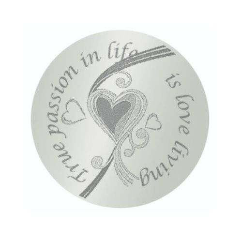 MY iMenso Engraving Insignia True Passion in life Silber 33-0297