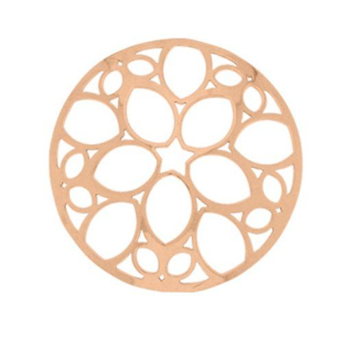 MY iMenso Cover Insignia Silber rosegold gewölbt 33-0362