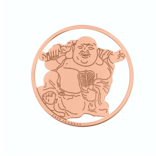 MY iMenso Cover Insignia Buddha Silber rosegold 33-0775