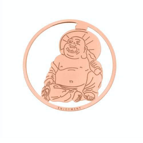 MY iMenso Cover Insignia Buddha Silber rosegold 33-0778