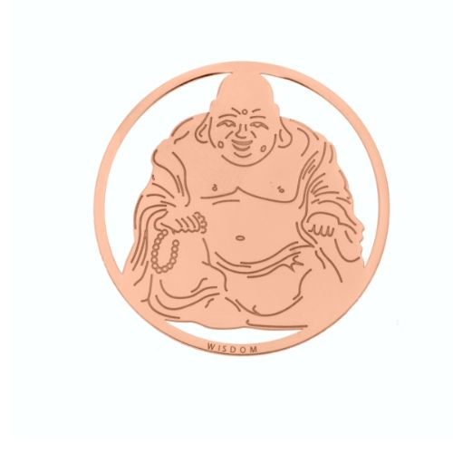 MY iMenso Cover Insignia Buddha Silber rosegold 33-0788
