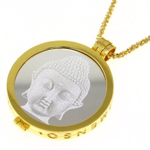 MY iMenso Engraving Insignia Buddha Silber 33-0277